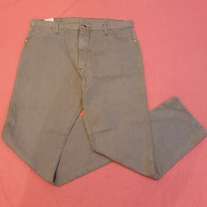 👕3 for $25🧢 NWT Wrangler Men's Grey Jeans 40x30